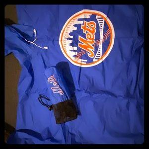 NY Mets Adult Rain Pancho